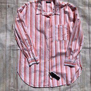 Cotton On Striped Button front shirt SP